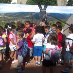 Visita de niños al museo