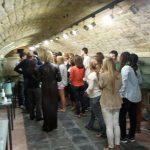grupo en el museo