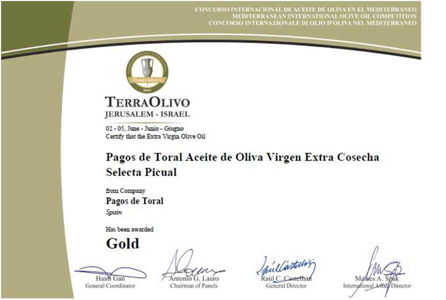 Diploma Terraolivo