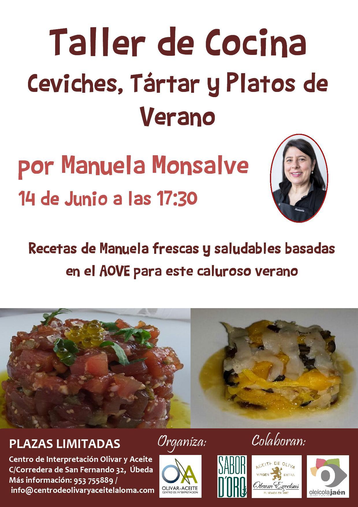 TALLER COCINA PLATOS DE VERANO MANUELA MONSALVE
