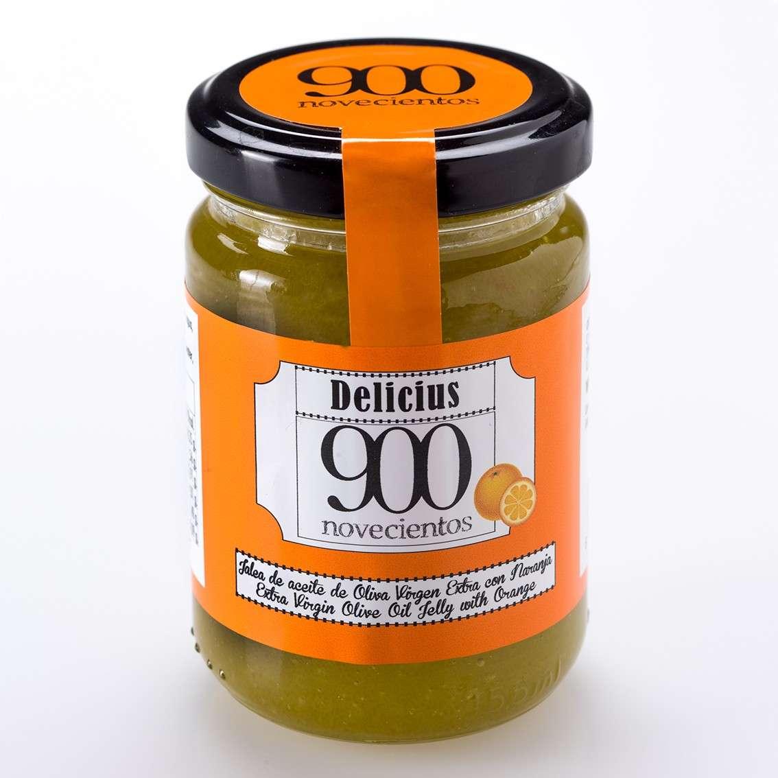 b3cf3a1f76b Jalea de Aceite de Oliva Virgen Extra con Naranja 900