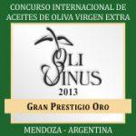 Premio OLIVINUS a el AOVE de Pagos de Toral