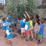 Visita niños del campamento