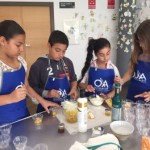 Niños en Cata de OleoMIel 2016
